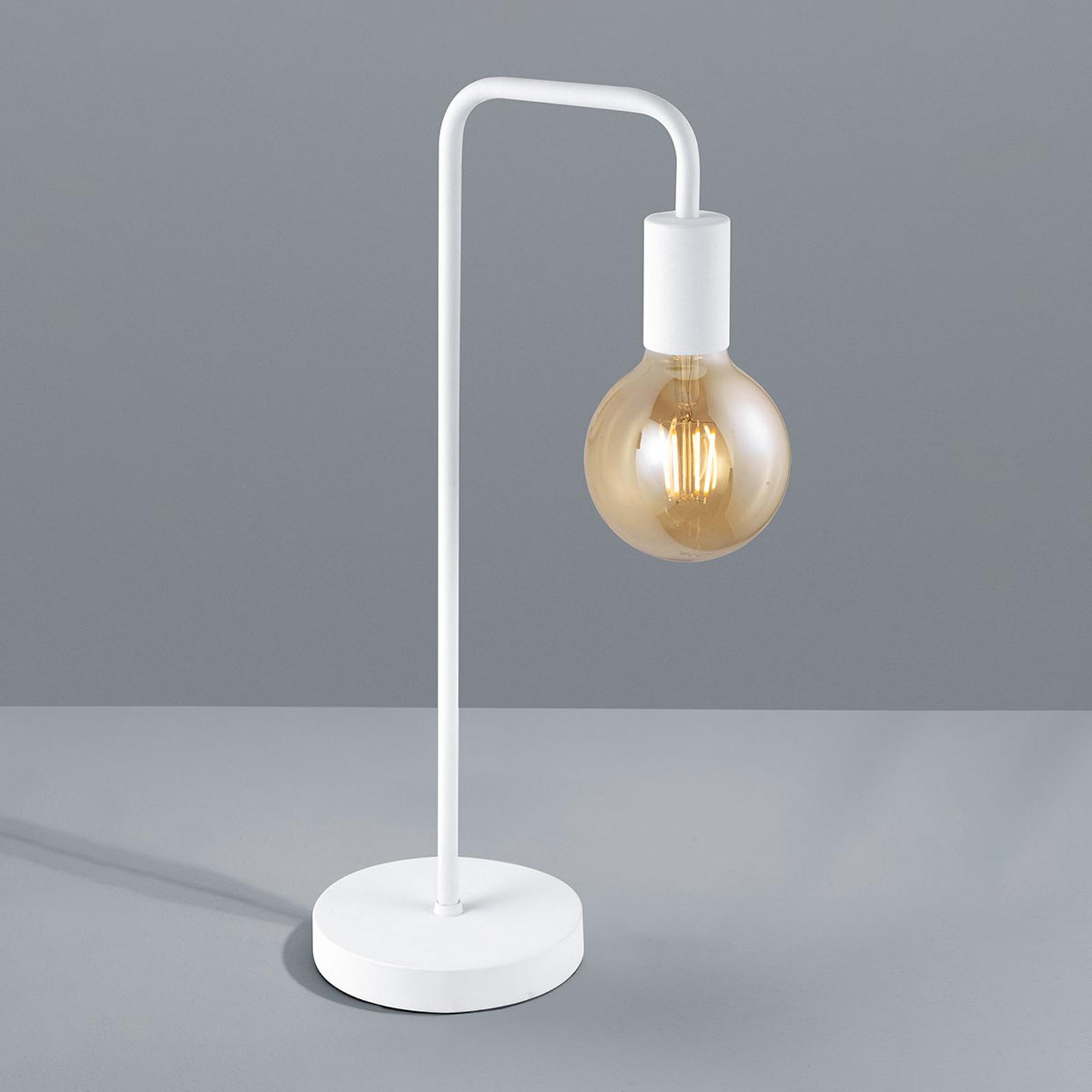 Vegglampe Diallo uten skjerm matt hvit