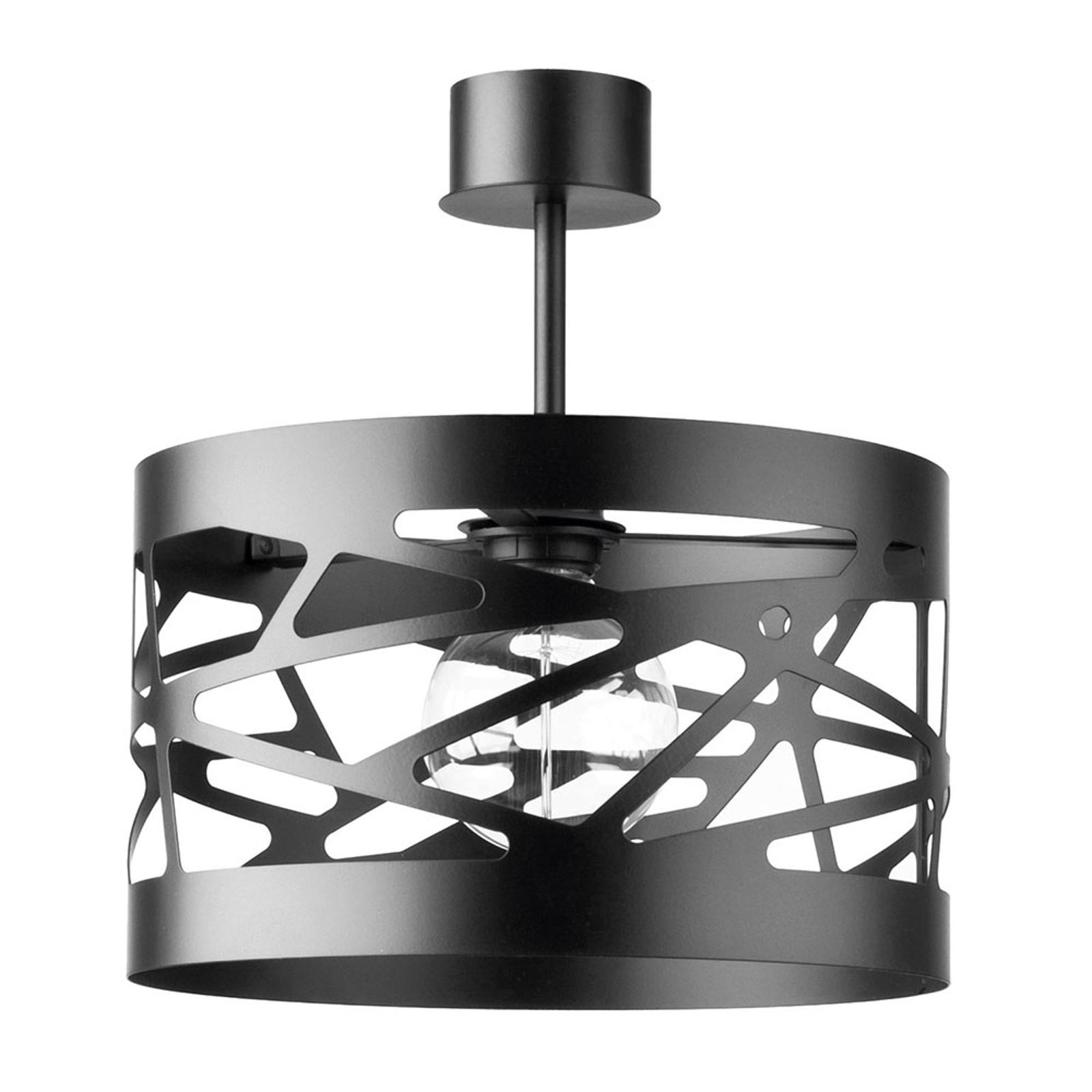 Modul Frez taklampe, Ø 30 cm, svart