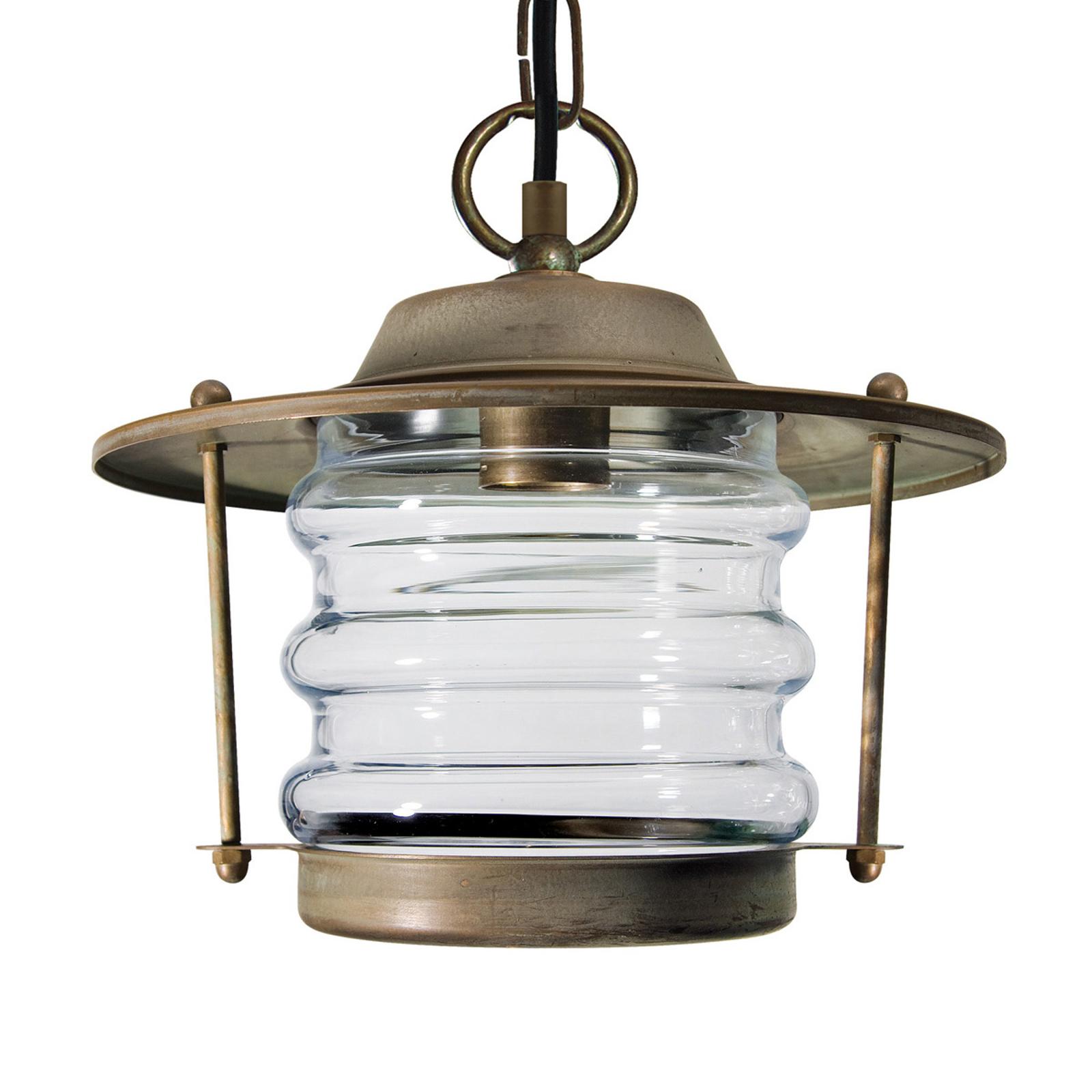 Zewn. lampa wisząca ADESSORA, latarnia,w.mor.