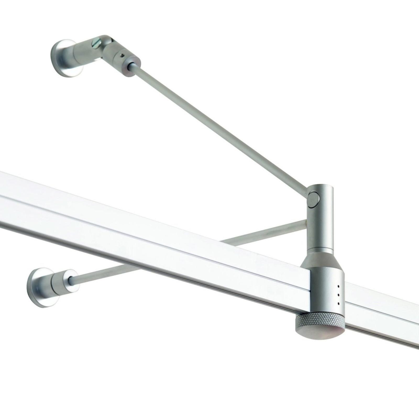 Bras pour lampes sur rail Check In