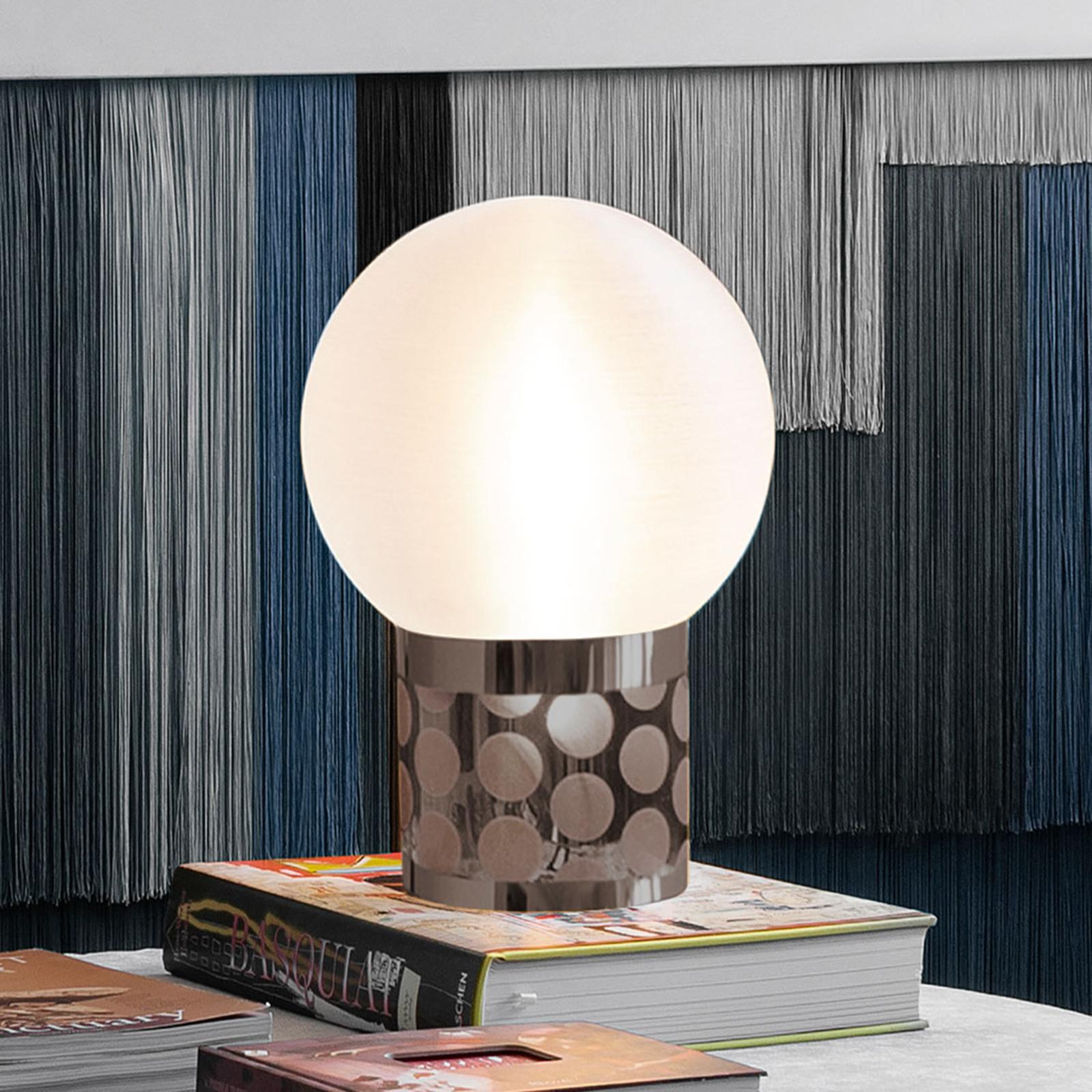 Slamp Atmosfera tafellamp, Ø 20 cm, tin