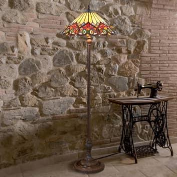 Aantrekkelijk uitgeruste vloerlamp Anni