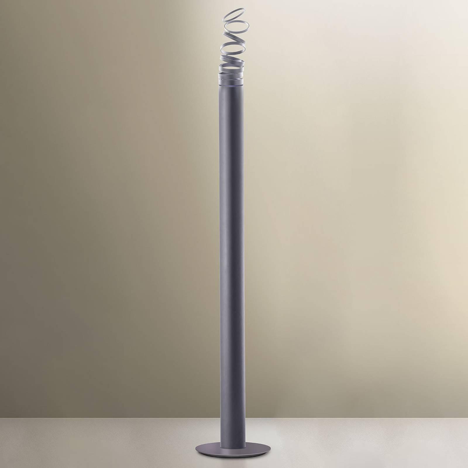 Artemide Decomposé LED-Stehleuchte grau