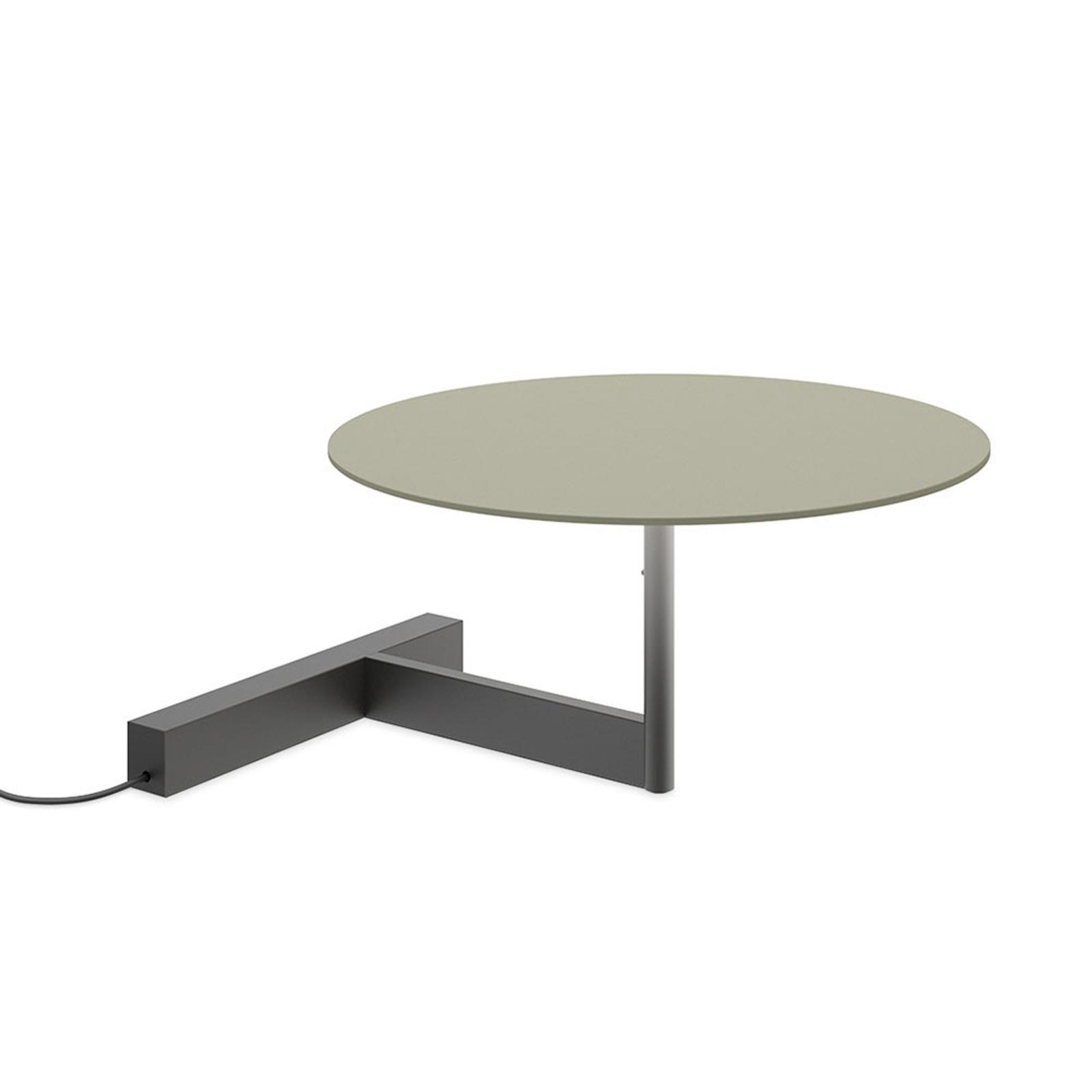 Vibia Flat LED-bordlampe høyde 16 cm grønn L1