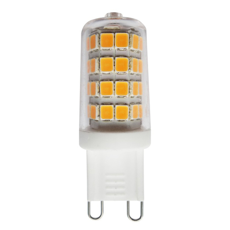 Lampadina LED bispina G9 3W 2.700K