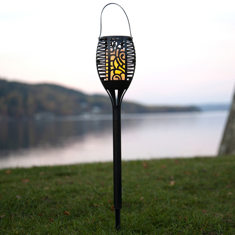 LED-Solarleuchte Flame, 3 in 1 umwandelbar