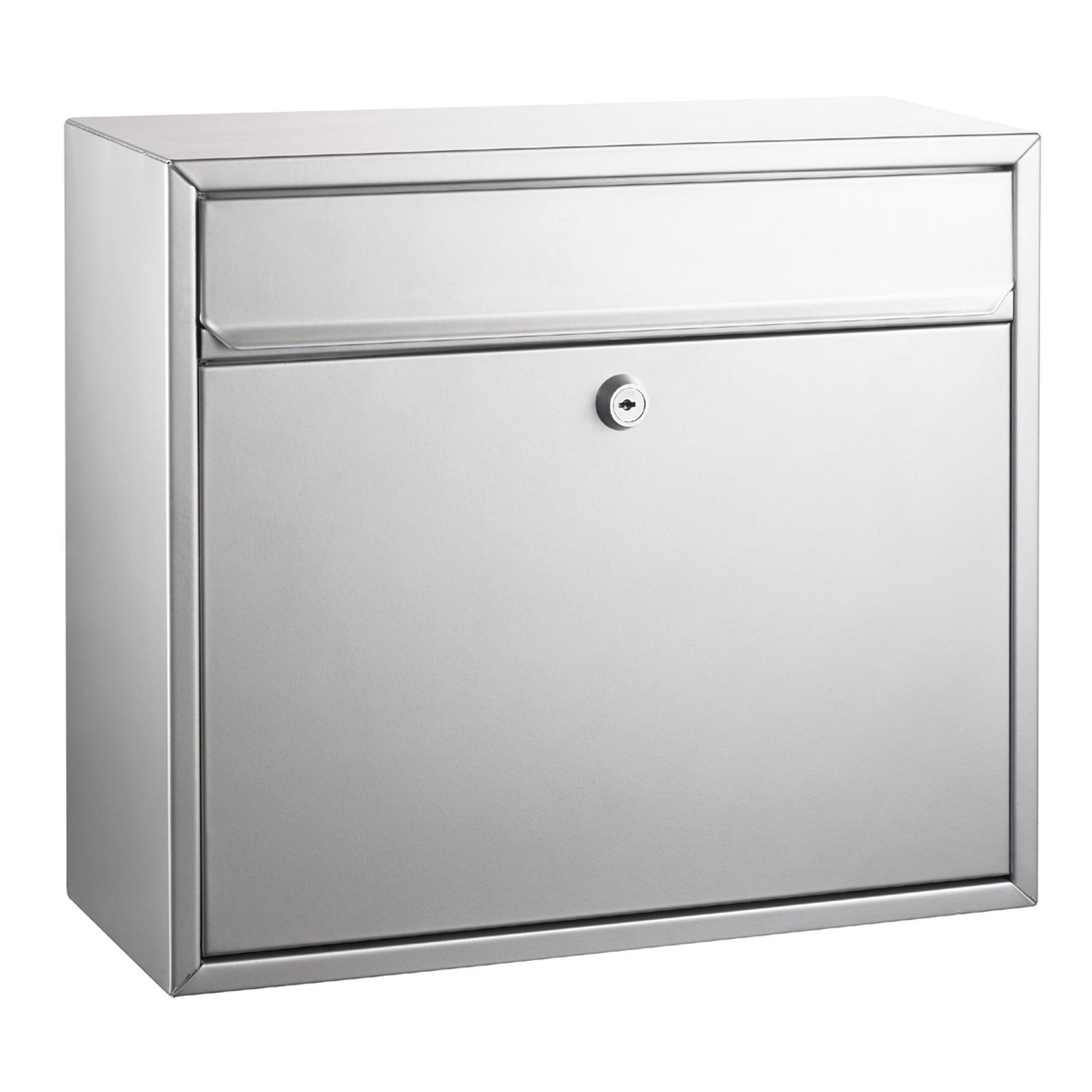 Poštovní schránka, stříbrný lak