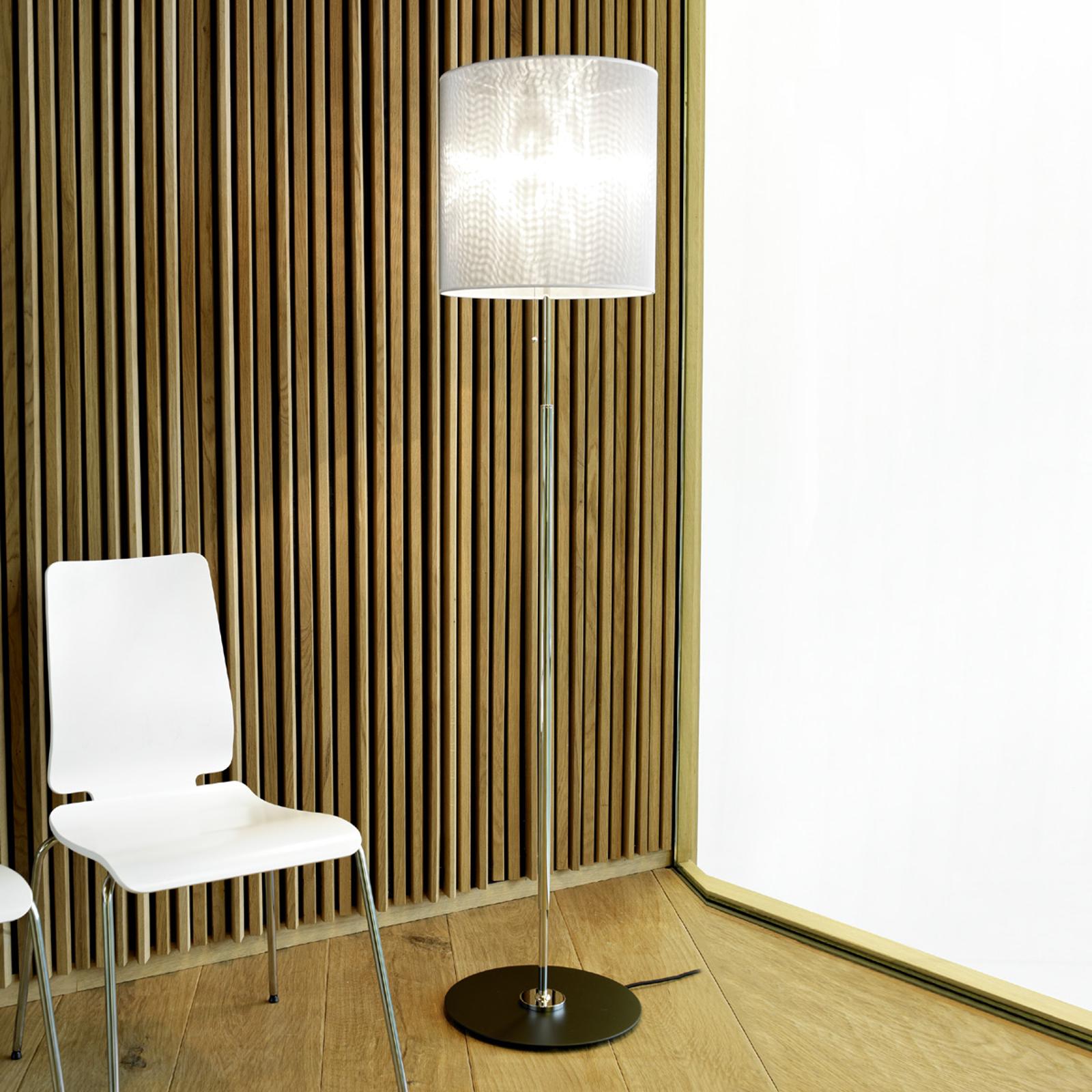 Markant design-vloerlamp, zeefgaas