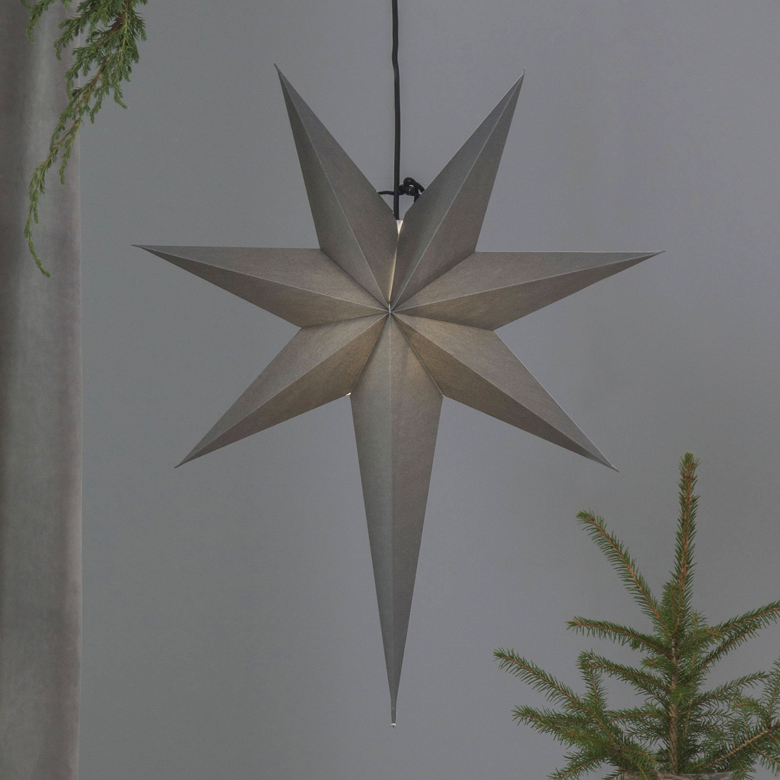 Ozen Papirstjerne med en lang hale