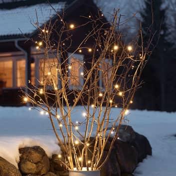 LED-lyslenken Martin med skumringssensor, 20 lys