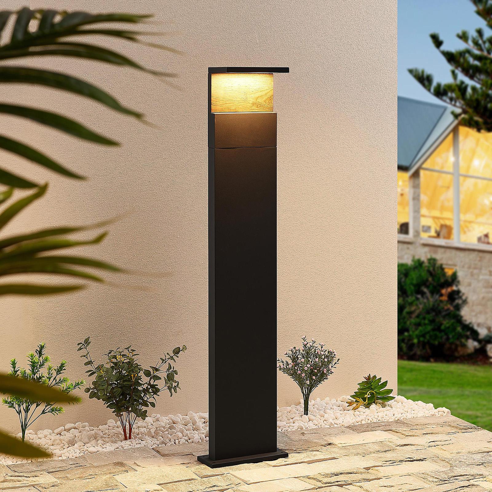 Lucande Lignus LED-Wegeleuchte