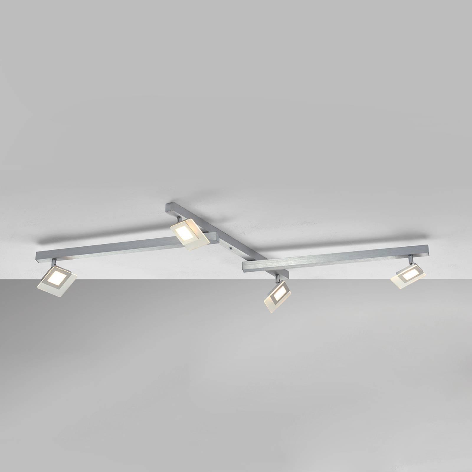 Ekskluzywna lampa sufitowa LED Line, 4-punktowa