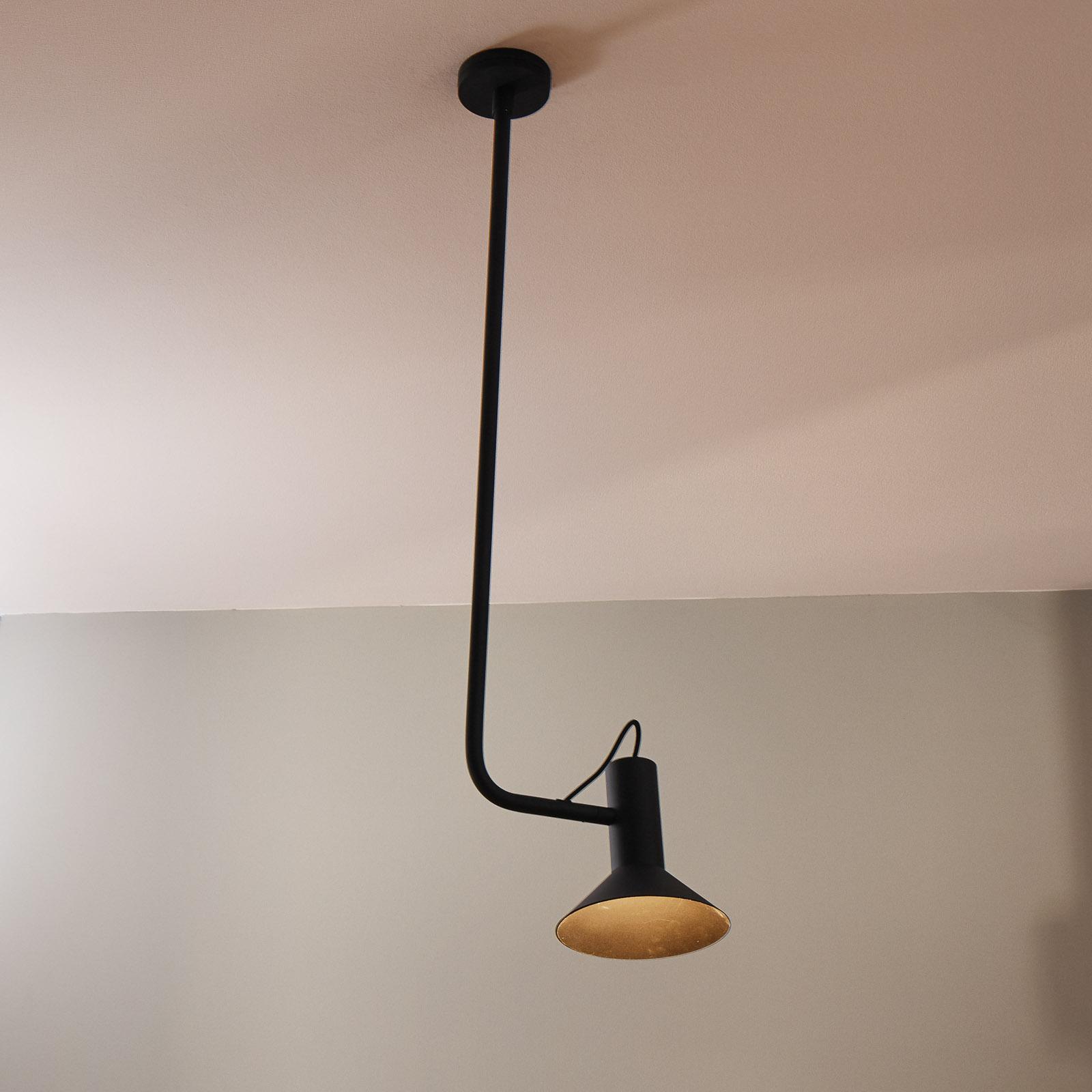WEVER & DUCRÉ Roomor hanglamp 1-lamp 20,5cm zwart