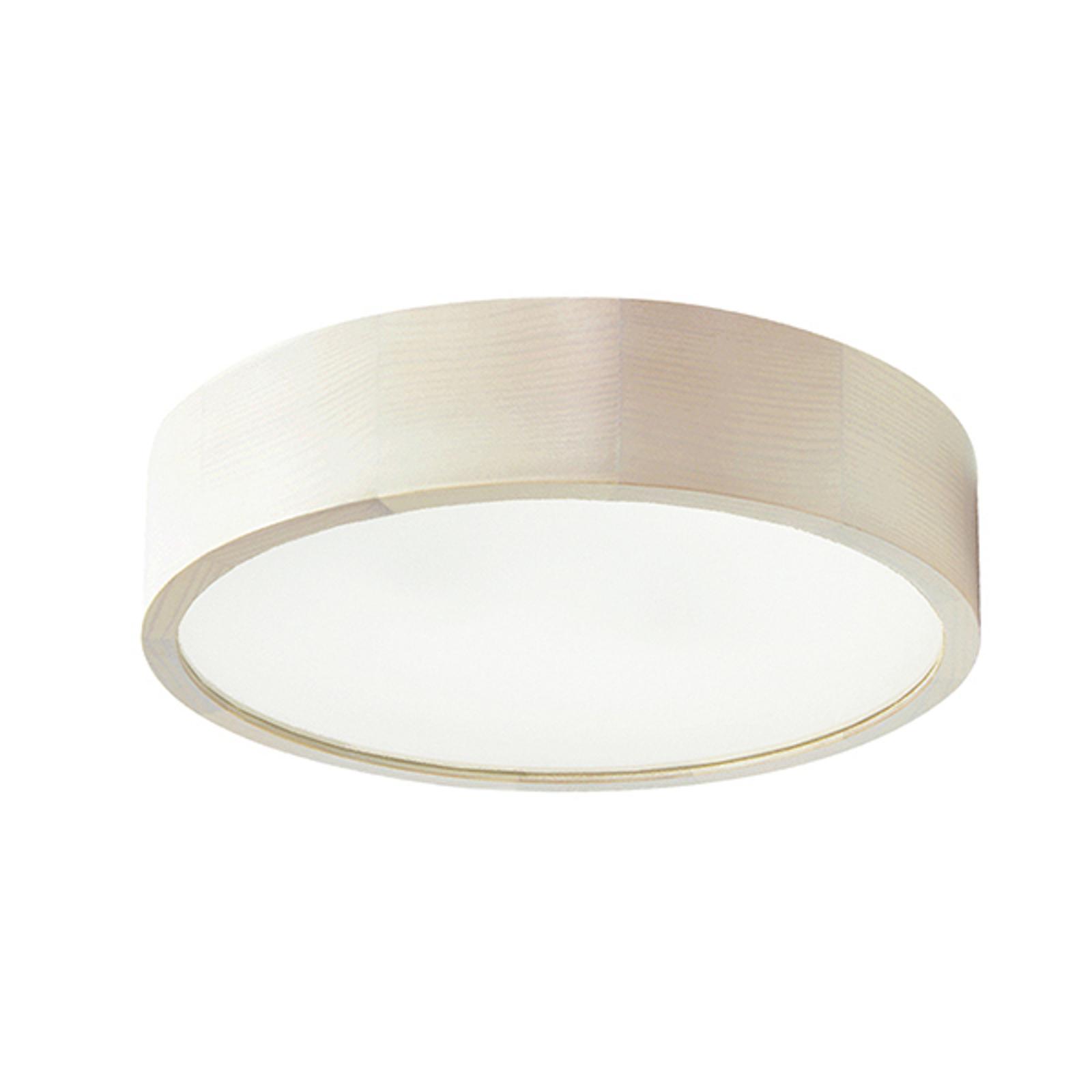 Cleo LED-loftlampe, Ø 38 cm, hvid