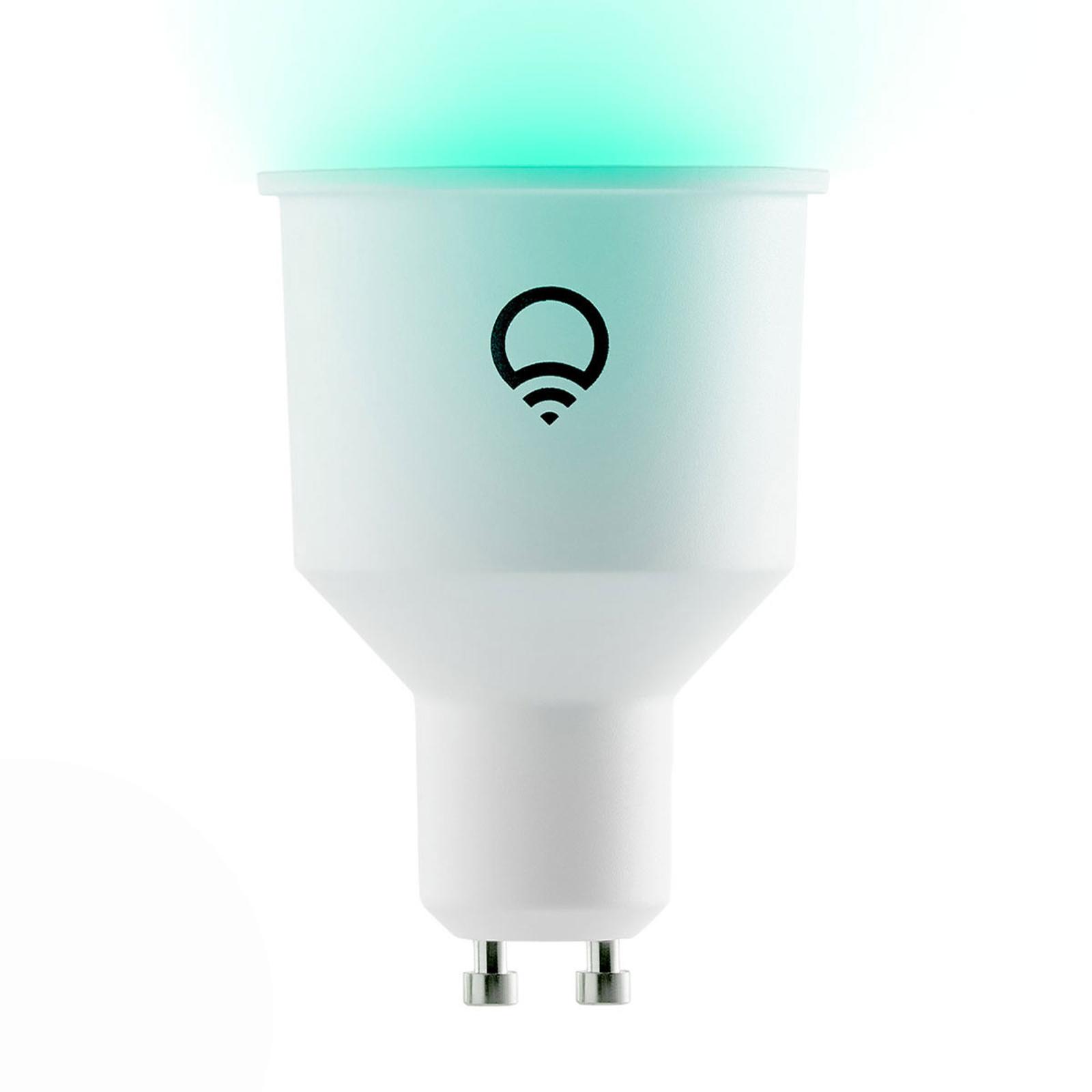 LIFX Color GU10 6W, 2.500-9.000 K, RGB, WLAN