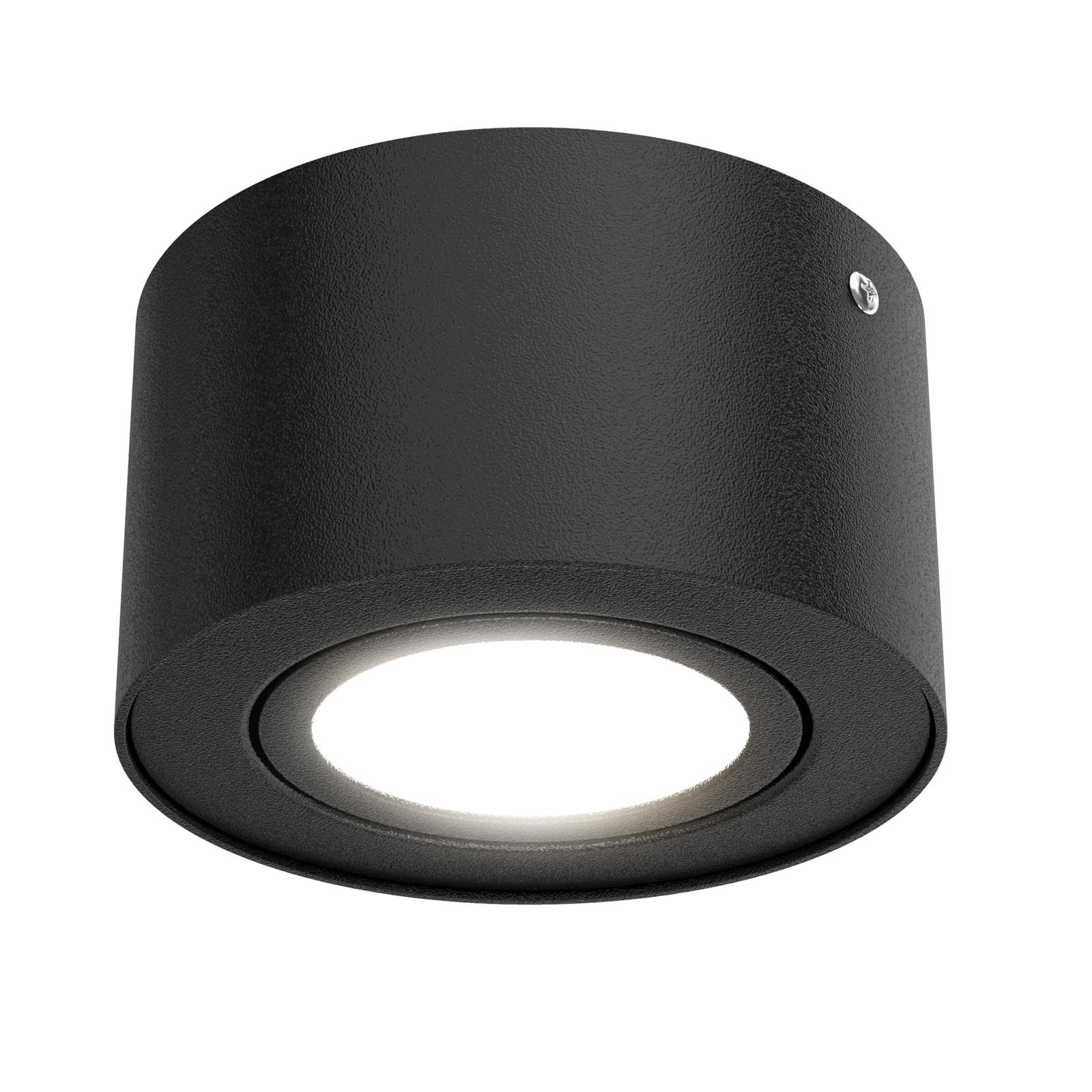 Spot pour plafond LED Tube 7121-015 en noir