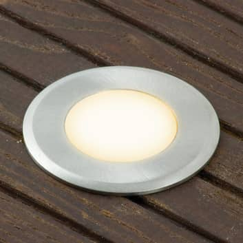 Reflektor LED Norimberk 4, kulatý, 0,3m přívod