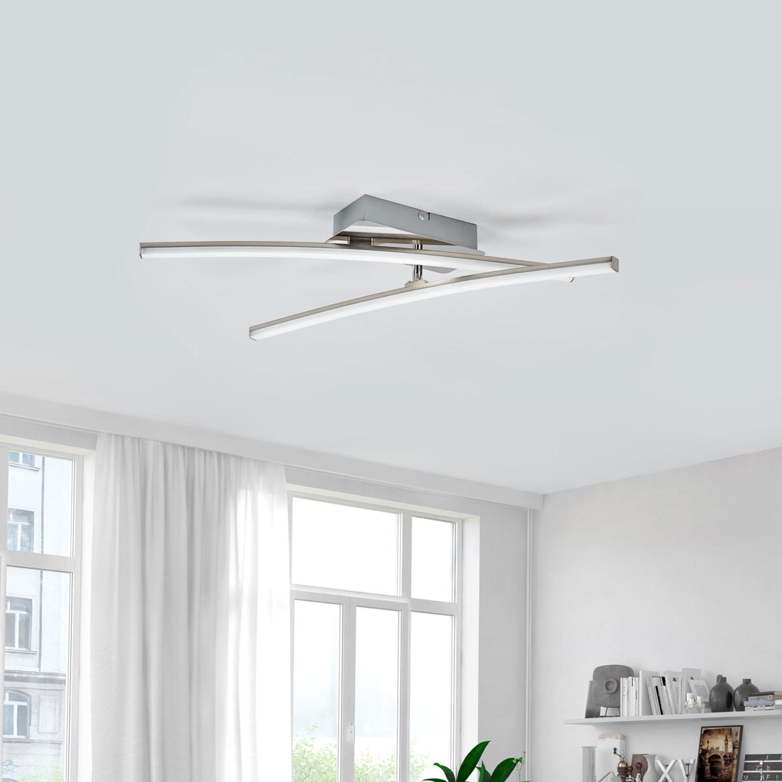 Simon - dwuramienna lampa sufitowa LED