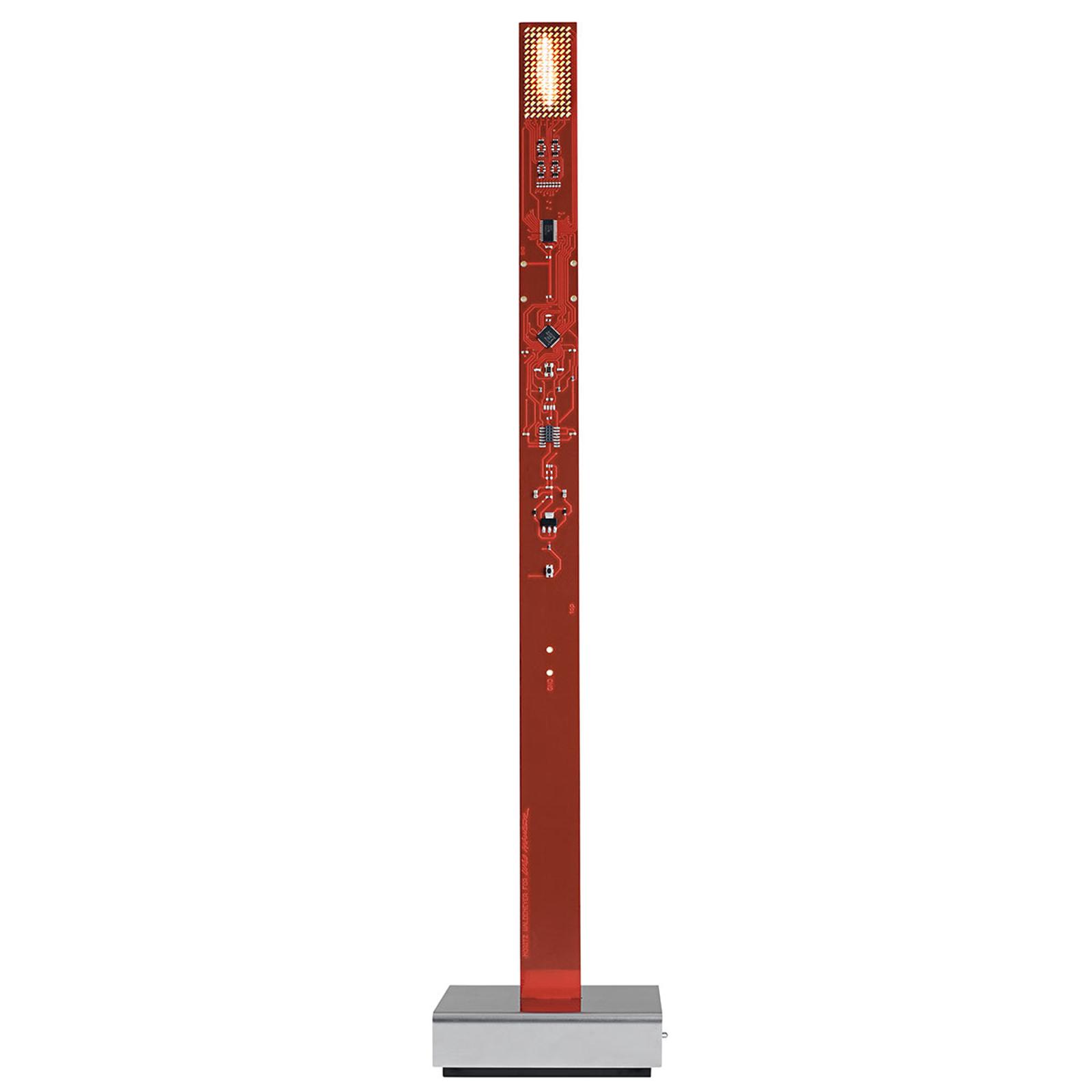 My New Flame - lampada da tavolo LED rossa