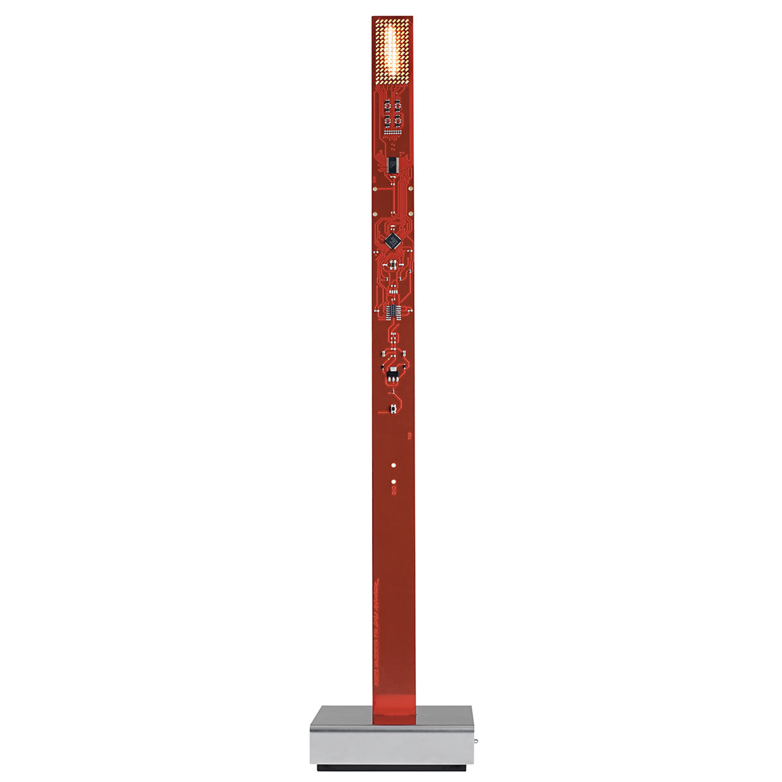 My New Flame - innovatieve LED tafellamp rood