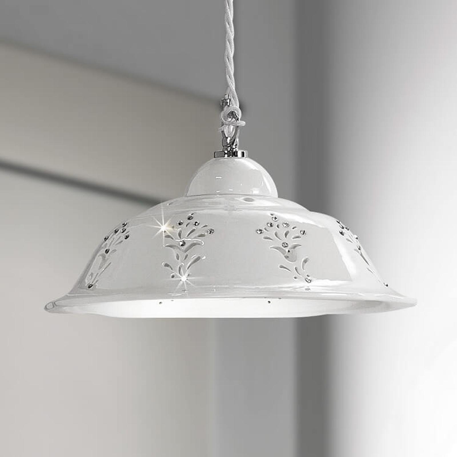 Kształtna ceramiczna lampa wisząca Guiliano