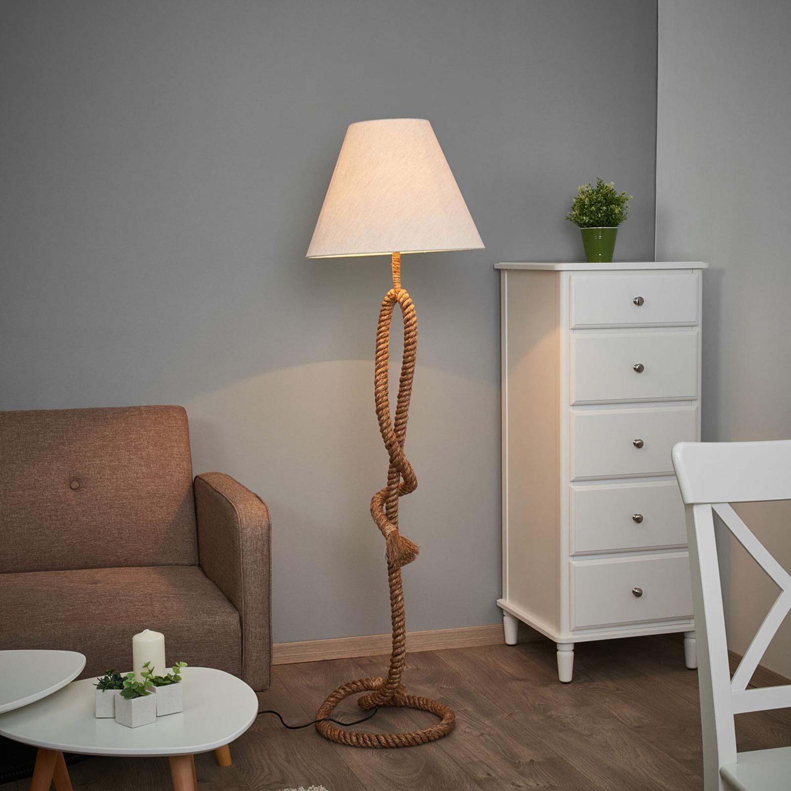 Wyjątkowa lampa stojąca VICTORIA 45 cm