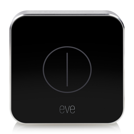 Eve Button telecomando dispositivi Apple HomeKit