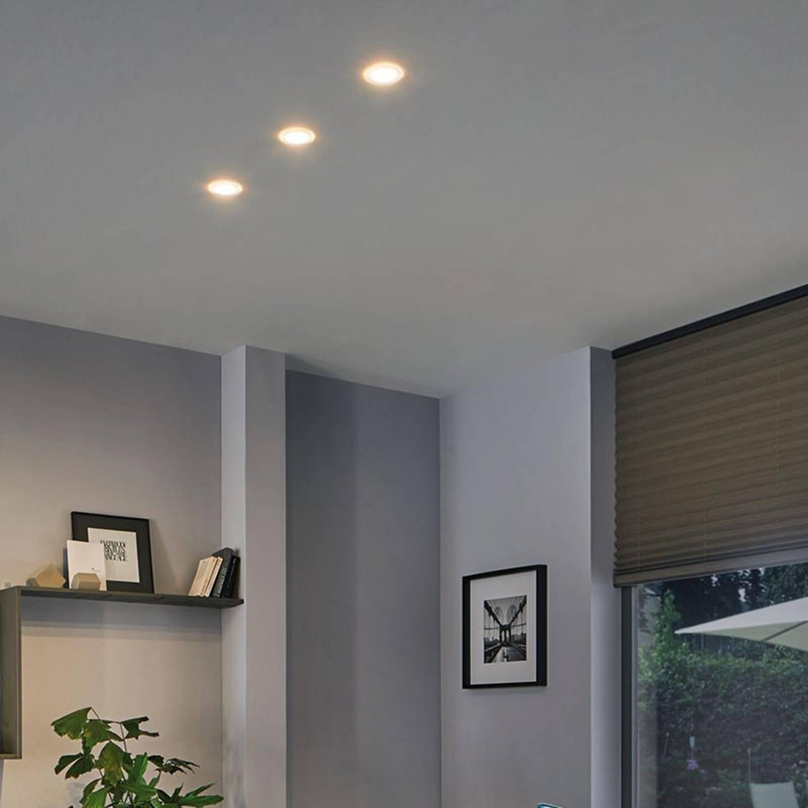 Paulmann Suon 3 luminaires encastrés LED, dimmable