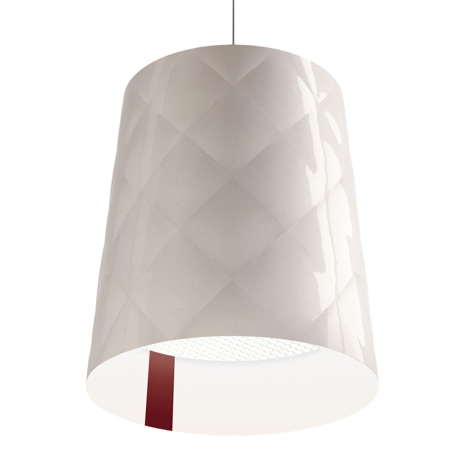 Kundalini New York lampa wisząca, Ø 45 cm, biała