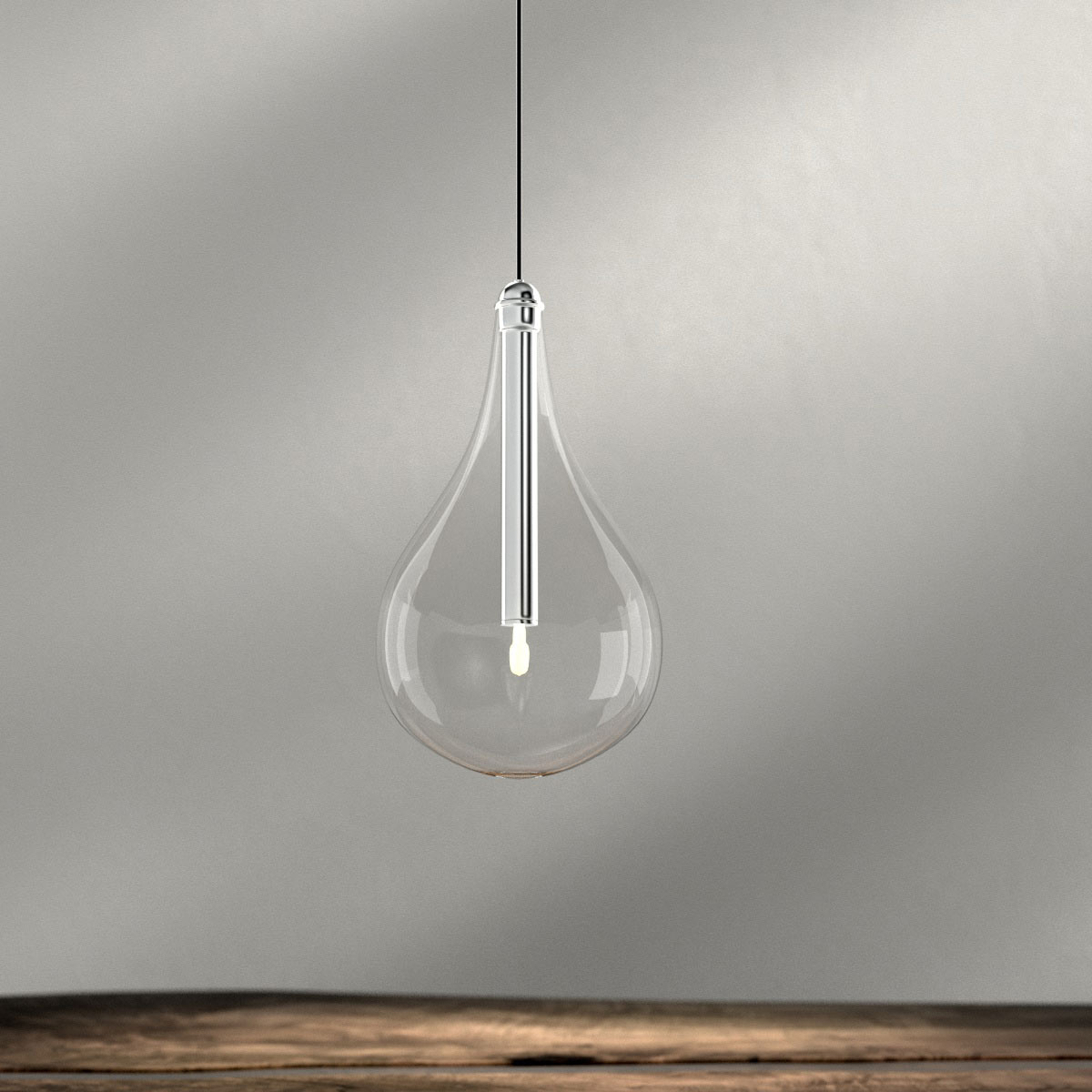 Lampada sospensione Drop, 1 luce