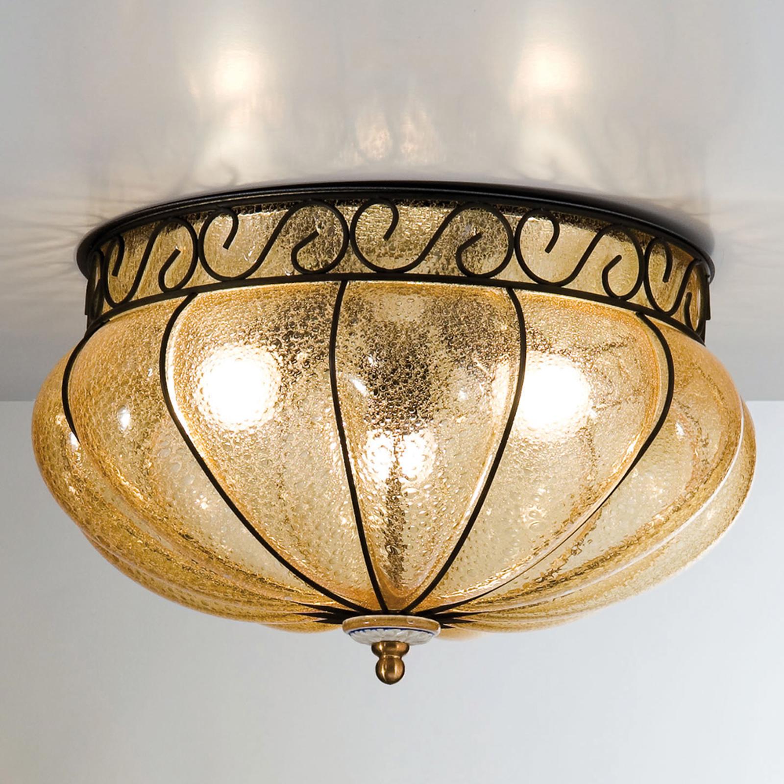 Margherita loftlampe, varmt strålende