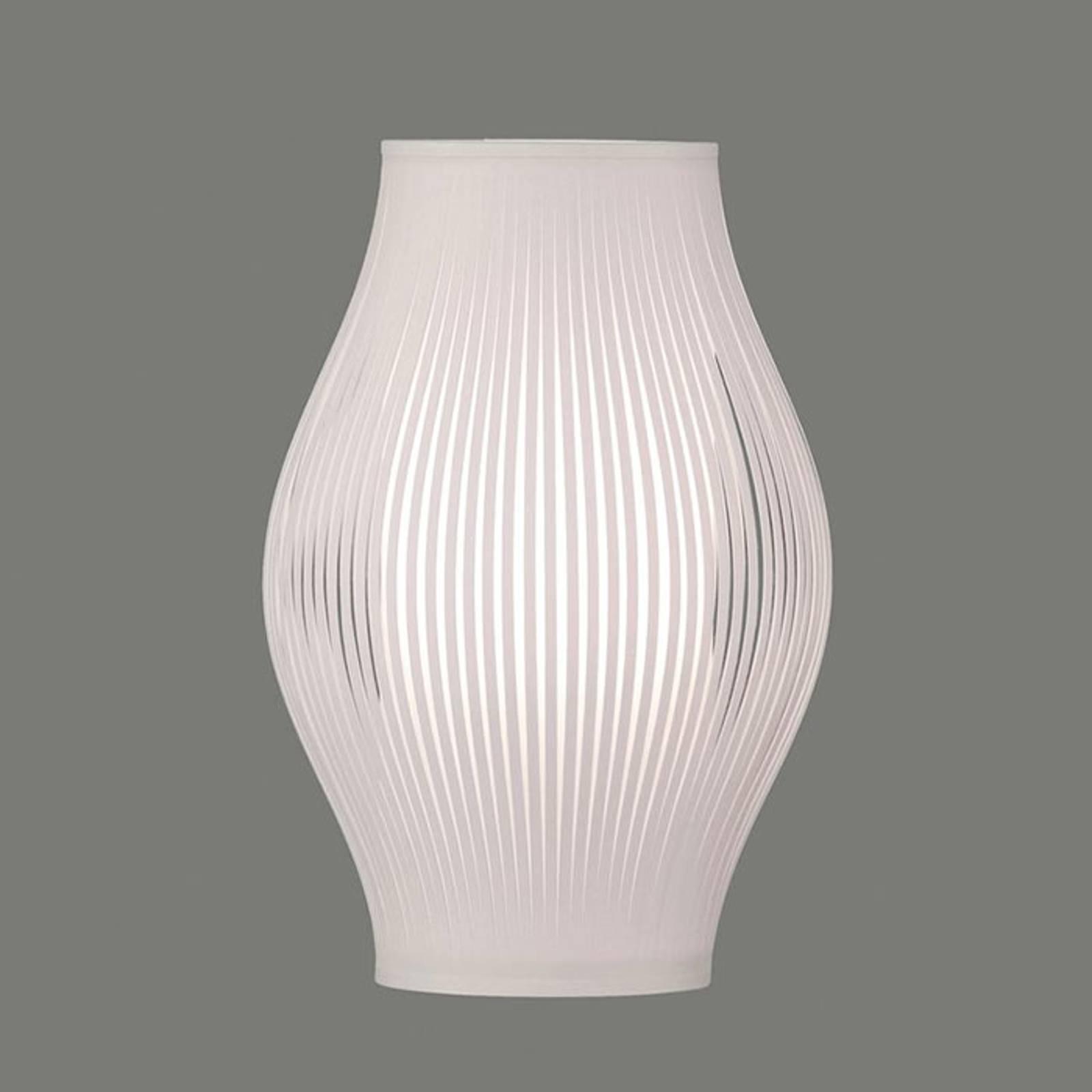 Tafellamp Murta, 36 cm, wit