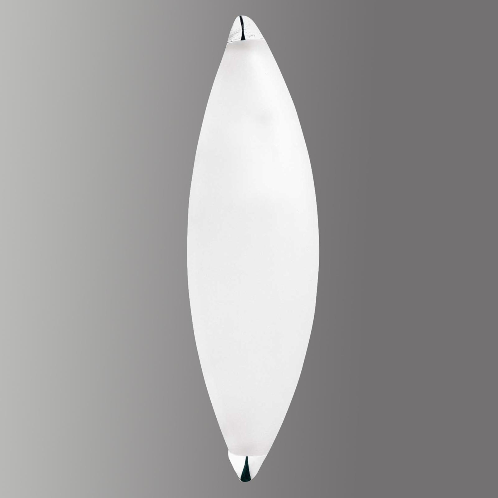 Drop - een wandlamp van glas
