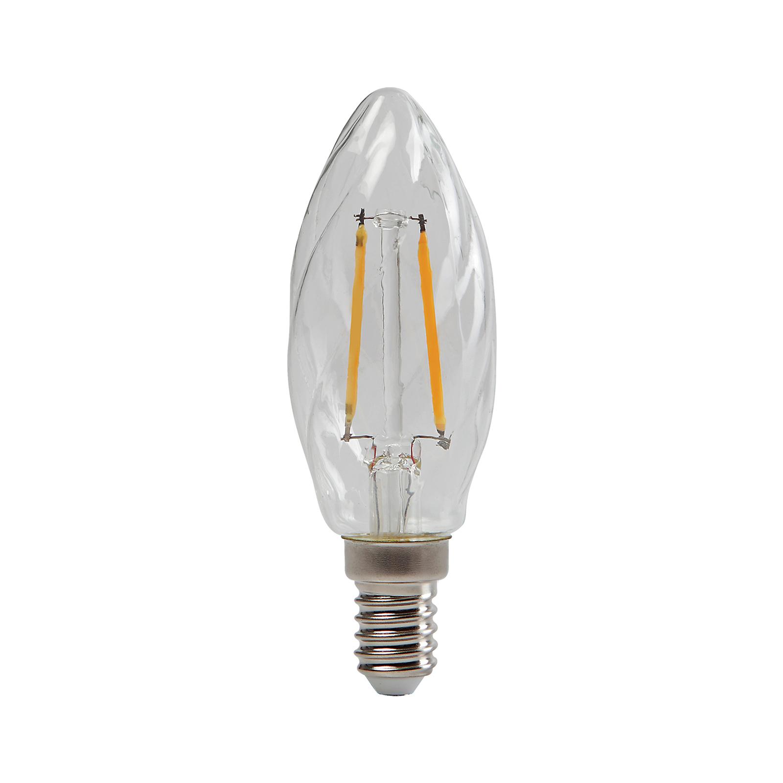 Żarówka świeca LED E14 ToLEDo 4,5W 827 skręcana