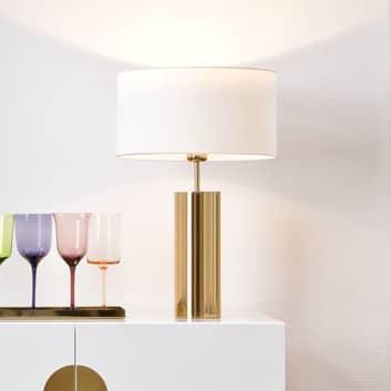 Villeroy & Boch Prag - lampa stołowa biały klosz