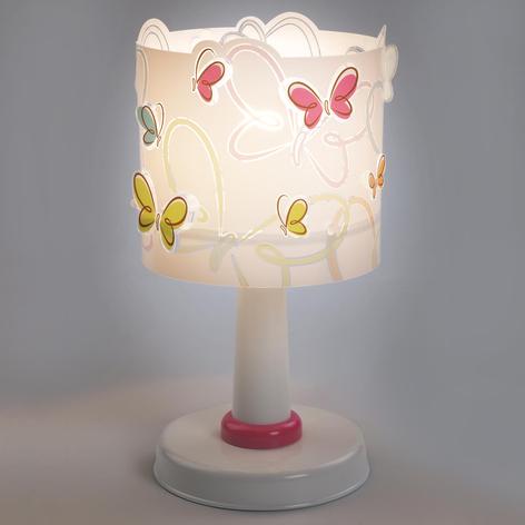 Butterfly - søt bordlampe til barnerommet