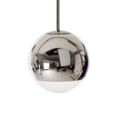 Pallonmuotoinen Mirror Ball -riippuvalaisin, kromi