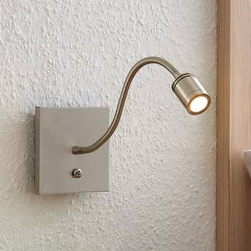Lindby Legera ścienna lampka do czytania LED