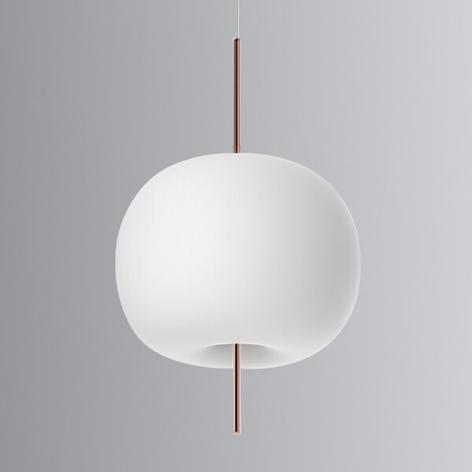 Kundalini Kushi - LED-Hängeleuchte kupfer