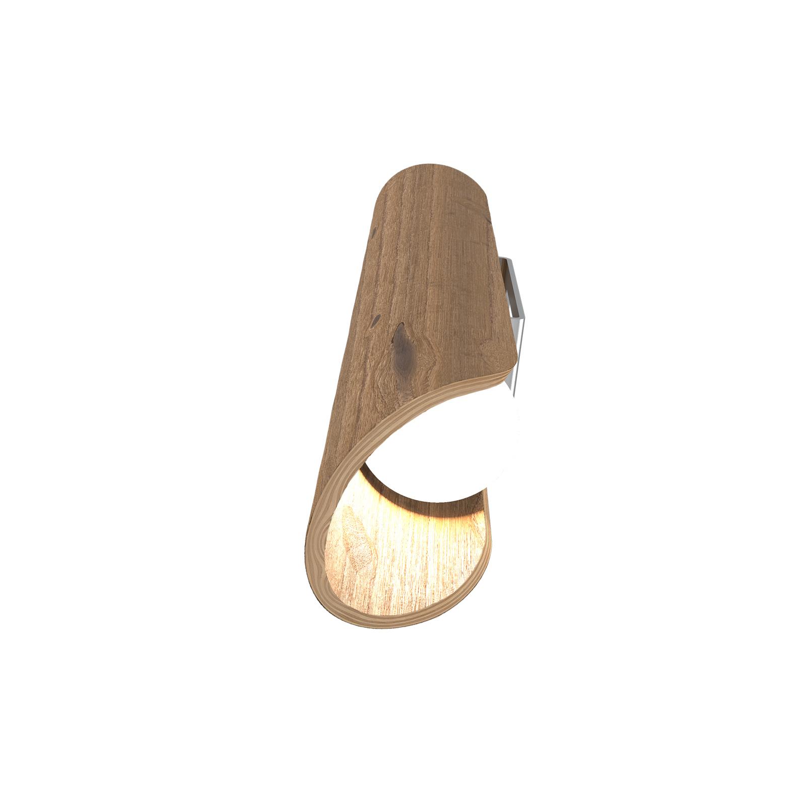 LED wandlamp Colombia, asteiken natuur