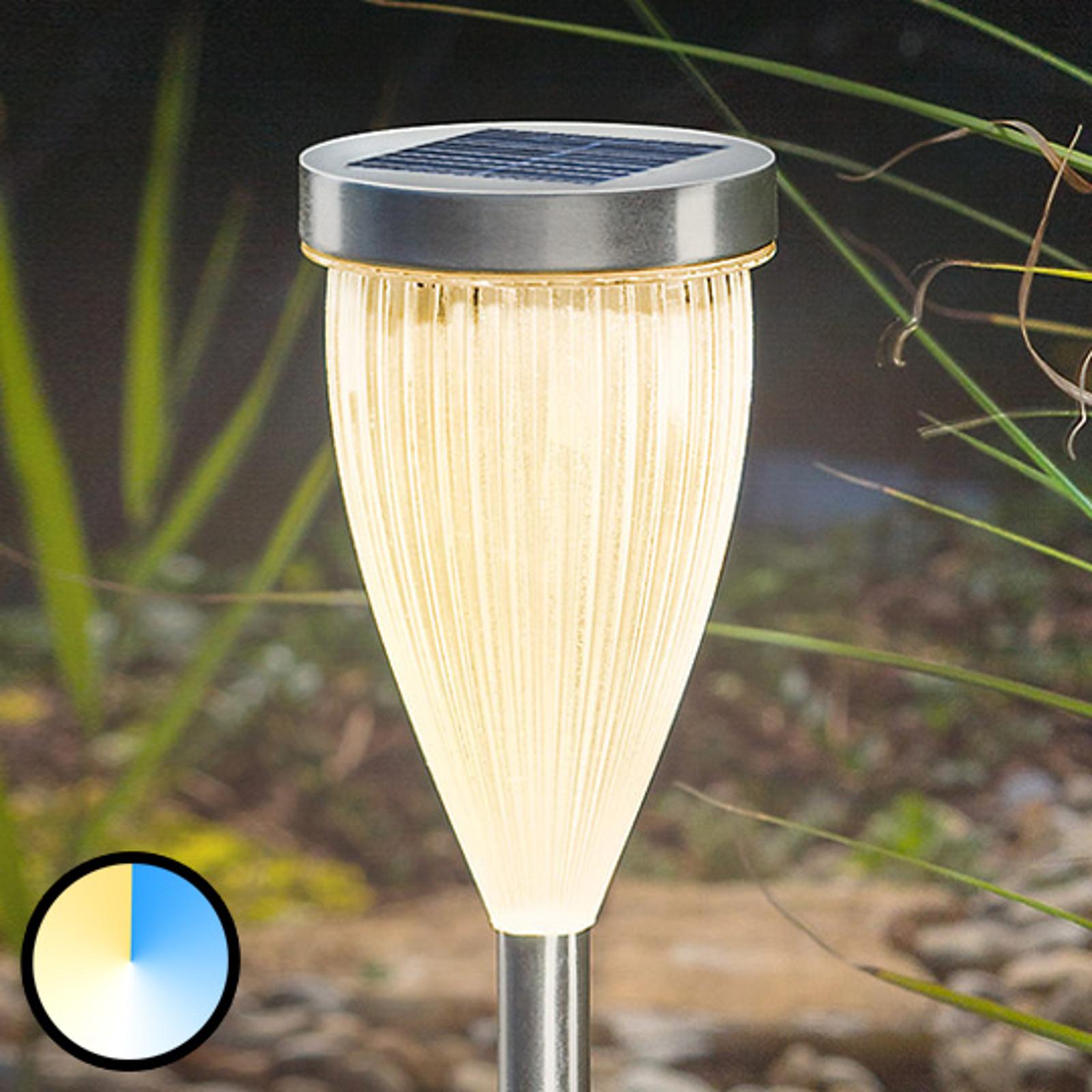 Dream Light -LED-pylväsvalaisin aurinkokennolla