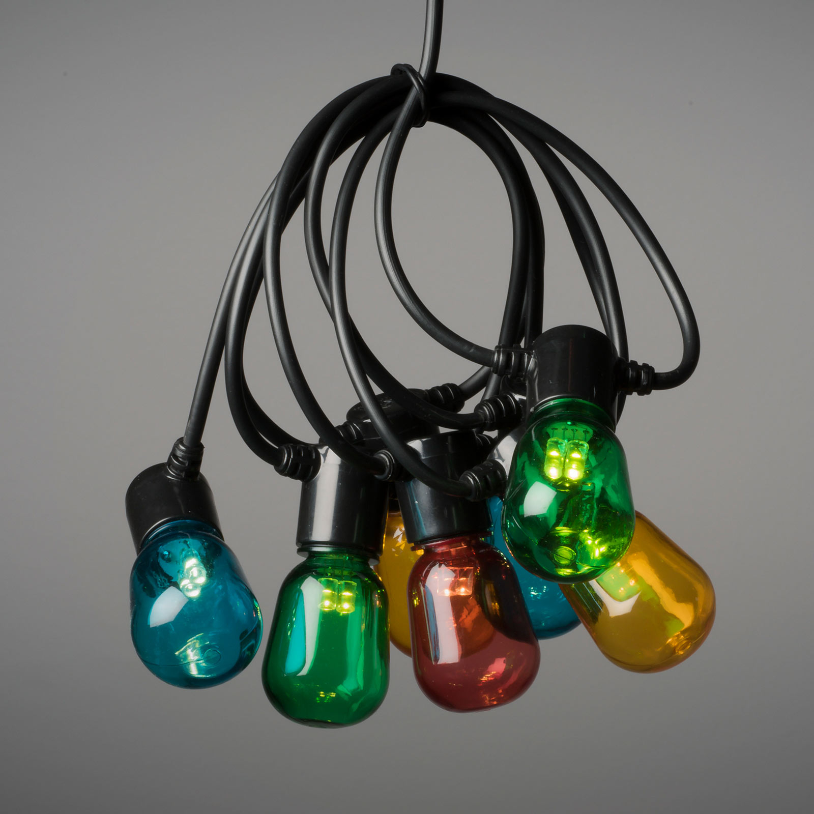 Catena luminosa LED Biergarten 40 luci colorate