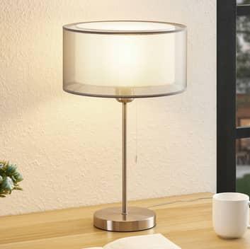Lindby Taxima bordslampa, grå