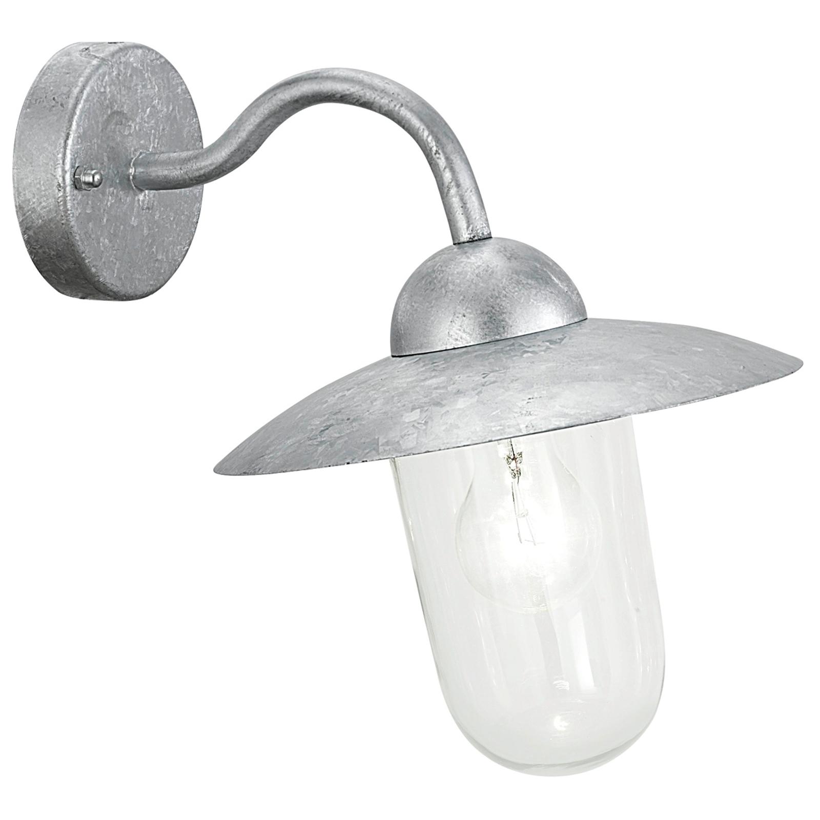 Ścienna lampa zewnętrzna MILTON ocynkowana