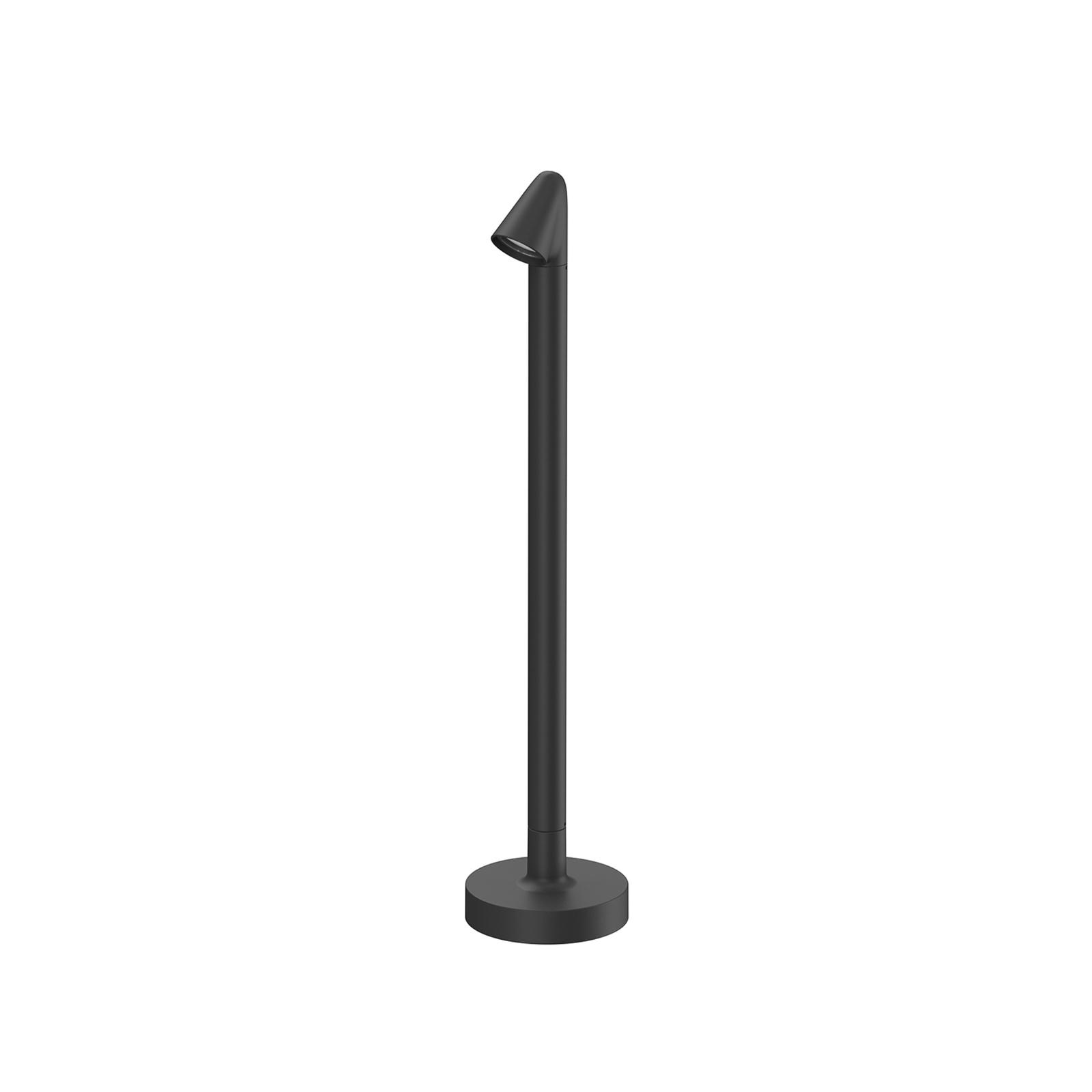 FLOS Walkstick 1 Wegeleuchte 2.700K, schwarz