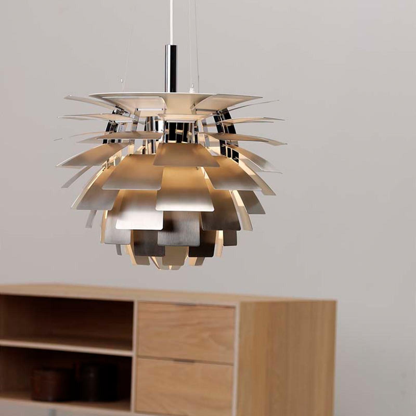 PH Artichoke - hanglamp roestvrij staal mat