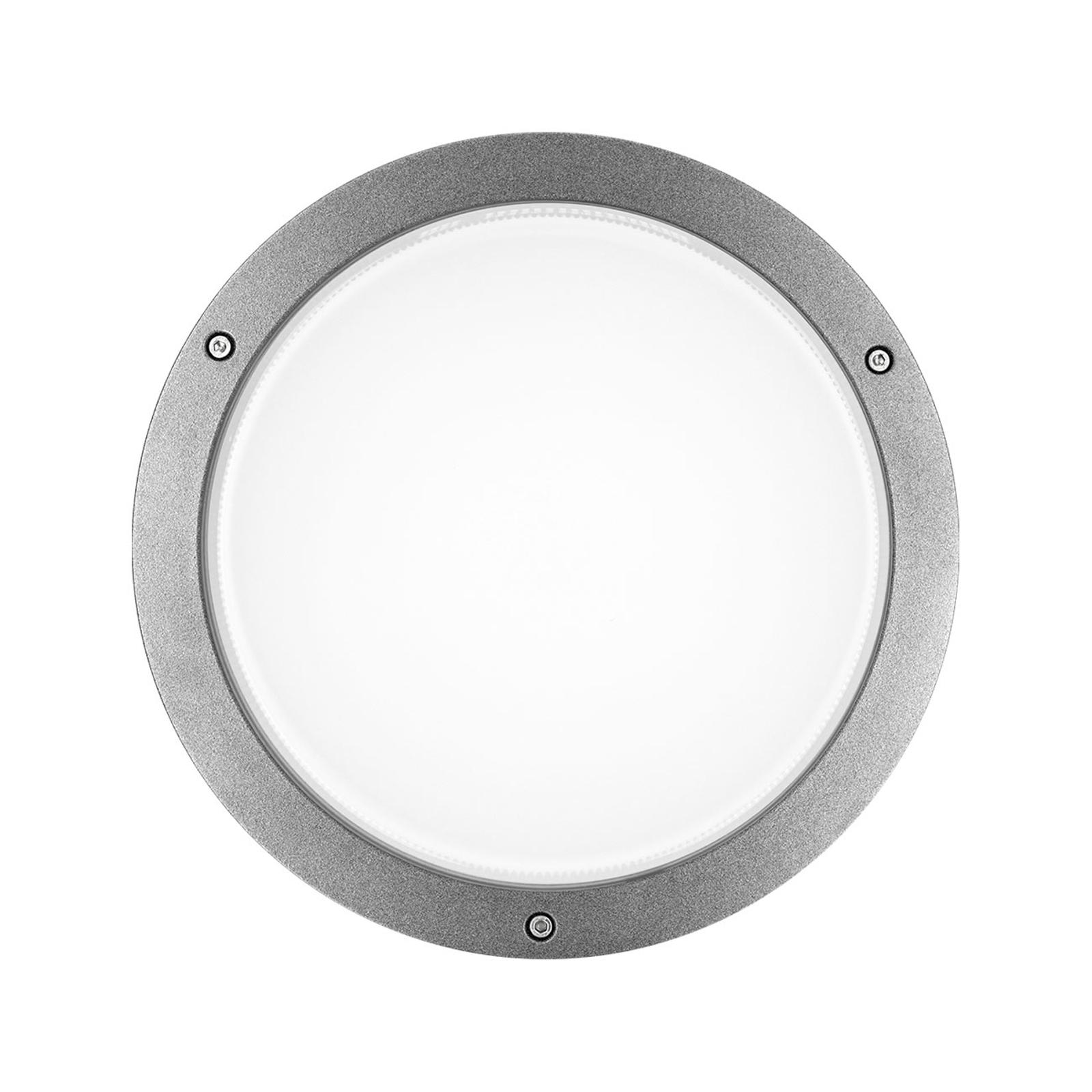 Applique LED Bliz Round 30, 30W 3000K grise