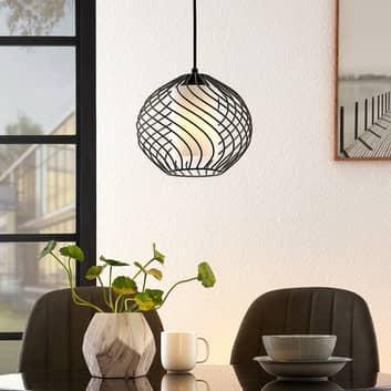 Lindby Cedrice lámpara colgante jaula, 1 luz
