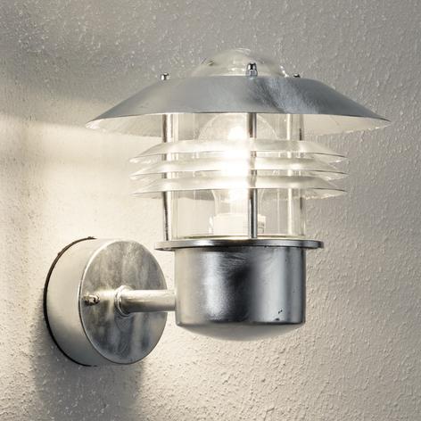 Tidløs Vejers udendørs væglampe uden sensor