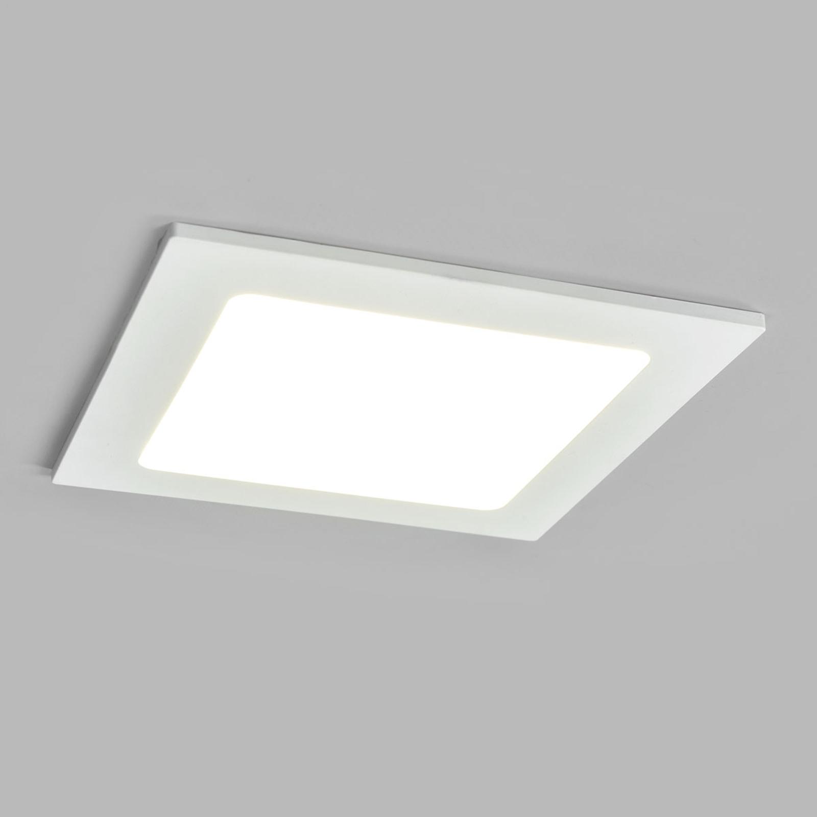 LED-kohdevalo Joki valkoinen 4000K kulmikas 16,5cm